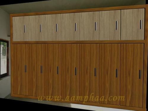 Wardrobe With Loft Design
