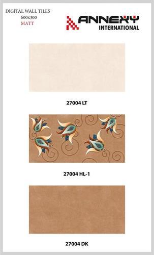 Ceramic Matt Wall Tiles 30x60