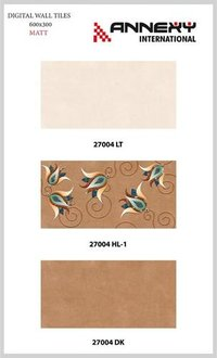 Ceramic Matt Wall Tiles