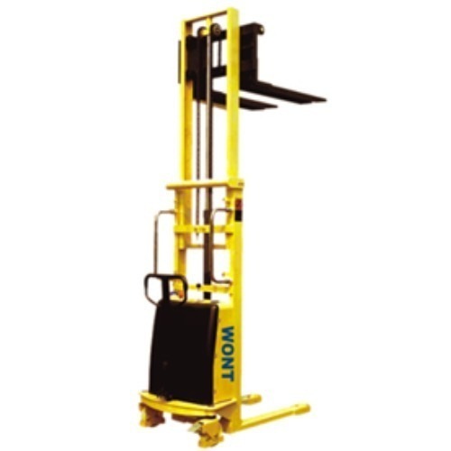 HYD. SEMI ELECTRIC STACKER [1 TON/ 3.0 Mtr]