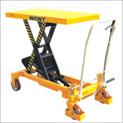 MOBILE SCISSOR TABLE - 350 Kgs