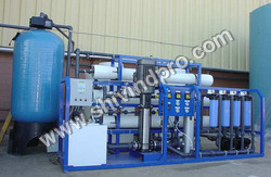Reverse Osmosis Treatment Plant