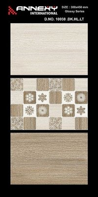 12x18 Digital Ceramic Wall Tiles