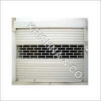 Rolling Shutter With Fancy Grill