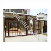 Stylish Stainless Steel Gates