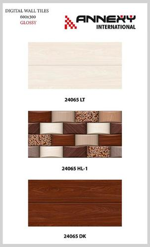 Brown Glossy Finish Tiles