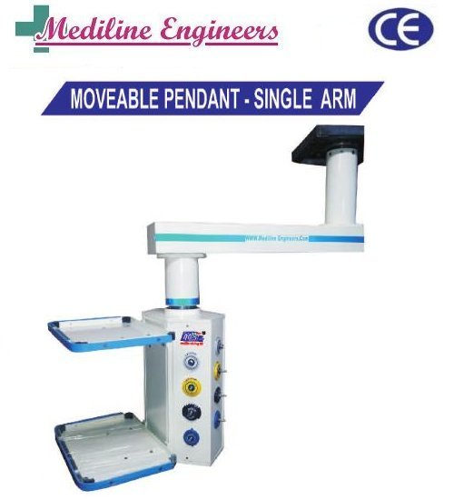 Hospital Moveable Pendant Single Arm