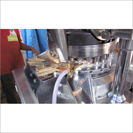DOUBLE ROTARY TABLET PRESS DOUBLE LAYER