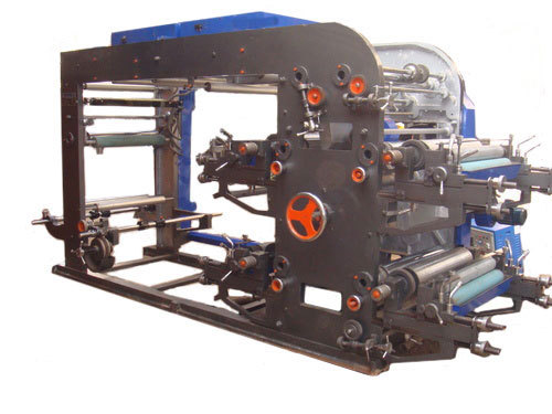 Four Colour Flexographic Printing Machine