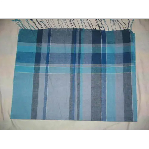 Men Pure Cotton Scarves