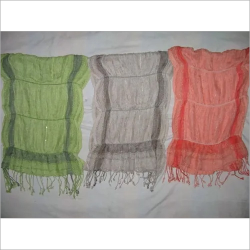 Viscose and Lycra Ladies Scarves