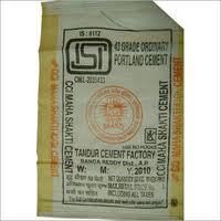 New Plastic Cement Bags