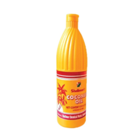 100 Ml HDPE Bottle Coconut Oil