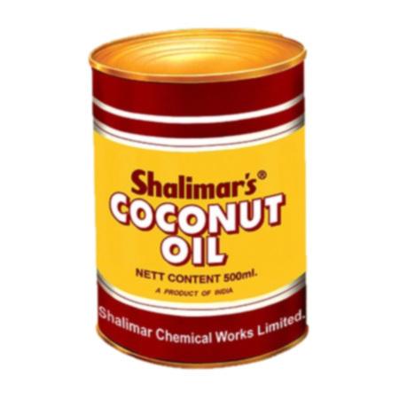 Coconut Oil in Tin Jar