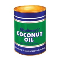 Coconut Oil Tin Container