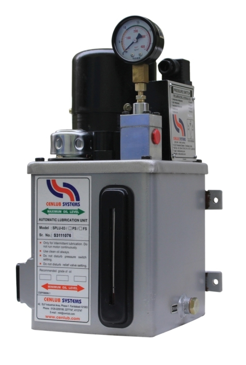 Motorised Lubrication Unit with Single Phase Motor