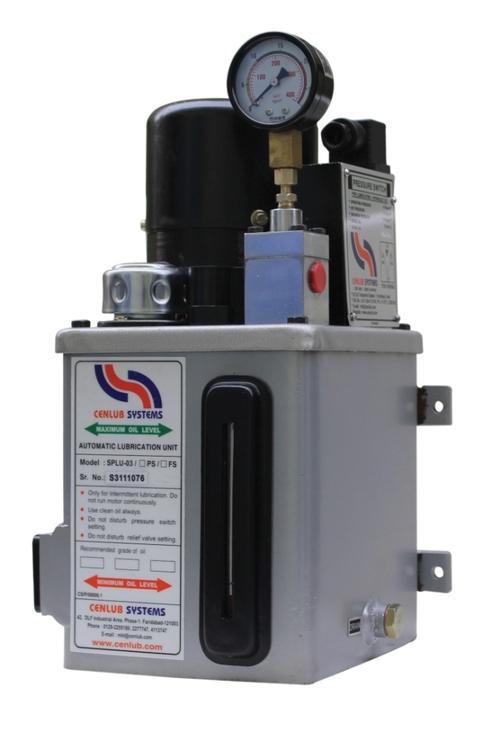 Motorised Lubrication Unit with Single Phase Motor