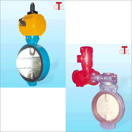 Rubber Seated Valve With Rotary Actauator