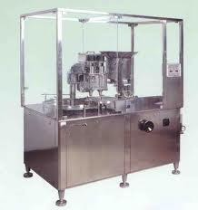 Single Stroke Vial Filling Machine