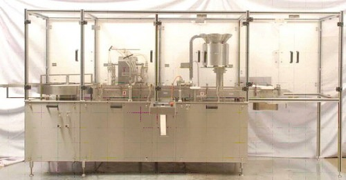 Four Stroke Vial Filling Machine