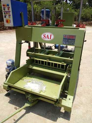 Automatic Concrete Block Making Machine