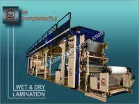 Wet & Dry Lamination Machine