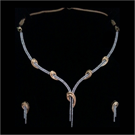 Diamond Necklaces Set