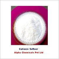 hot water dispersible cationic softener