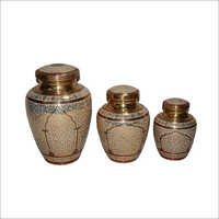 Brass Companion Urns