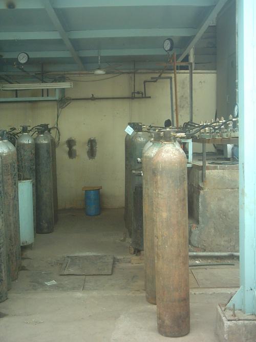 Industrial gas manifold System