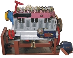 Six Cylinder Diesel Engine Cutsection Working Model