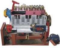 Six Cylinder Diesel Engine Cutsection Working Model