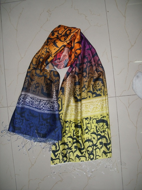 Calligraphy Printed Scarves