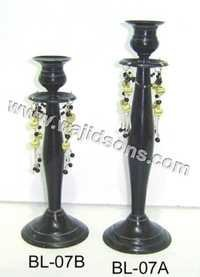 HANGING BEADS CANDLESTAND