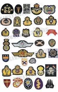 ARMY EMBROIDERY BADGES