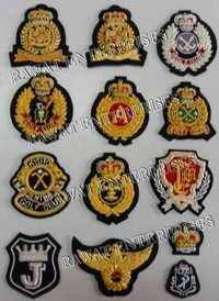 Embroidered Blazer Badges