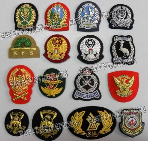 Hand Embroidred Badges