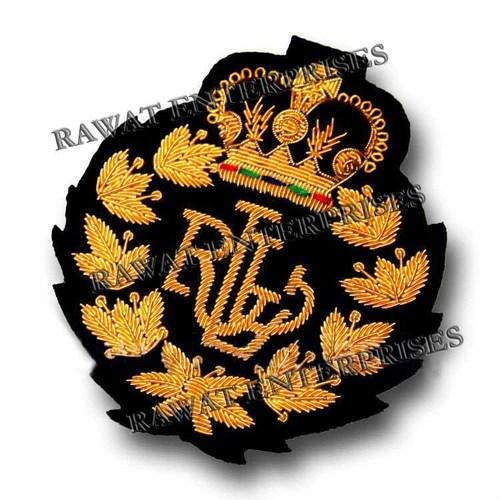 RLL Handmade Bullion Blazar Badges