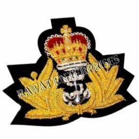 Royal Navy Officers Cap Badges