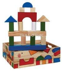 Building Fun (In Wooden Storage Box)