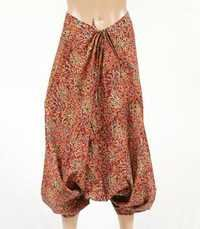 Indian floral print cotton harem pants pantaloon