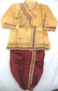 Kids Dhoti  handloom silk kurta
