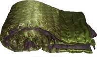 Jaipuri Maroon Double Bed Velvet Quilt