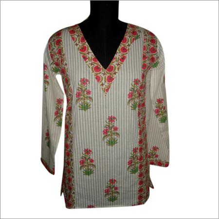 Cotton Printed Ladies Kurtis