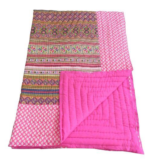 Cotton Jaipuri Quilt