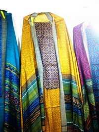 Tussar Silk Kantha Work Suits