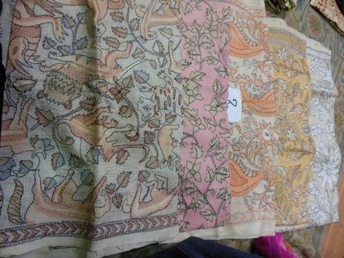 Kantha Silk Stoles