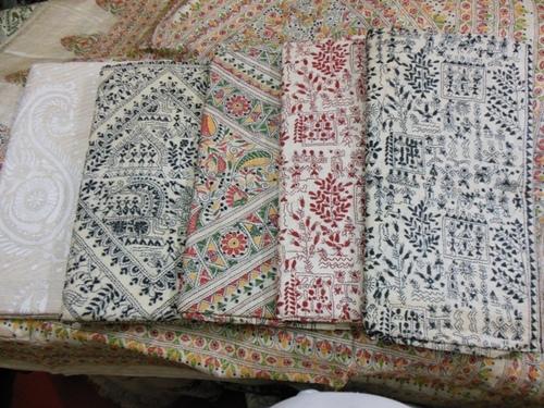 Pure Kantha Needle Work Sarees