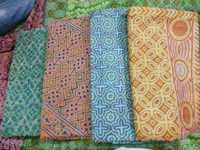 Kantha Work Tussar Silk Saree