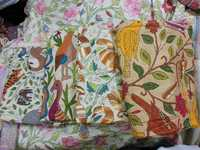 Cotton Kantha Stitch Sarees